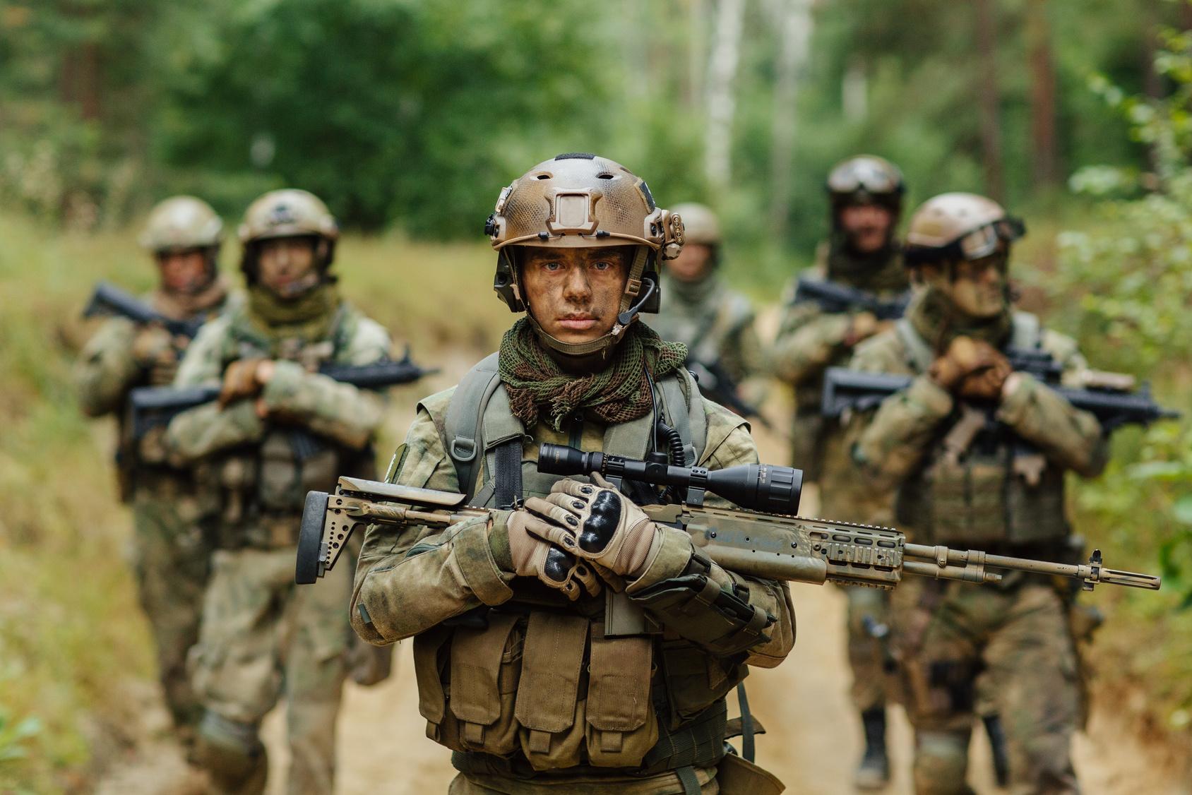 Shrike Airsoft patrol rifles gear